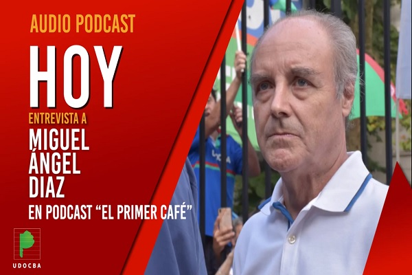 Miguel Ángel Díaz en Podcast